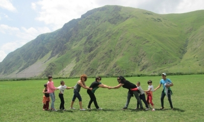 Summer holidays in Kazbegi