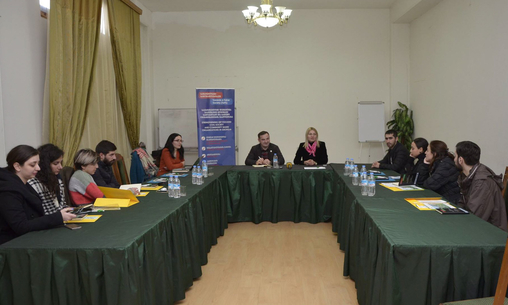 Meeting with Media Representatives - Gori