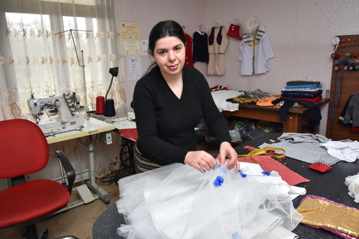 Julieta Meparishvili - Sewing Salon