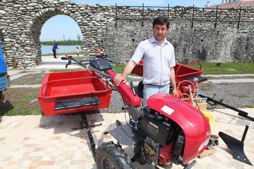 Giving the material assets to launch the economic activities - Anaklia / Zugdidi