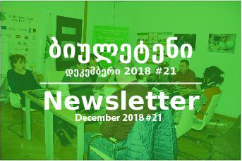 საინფორმაციო ბიულეტენი - დეკემბერი 2018