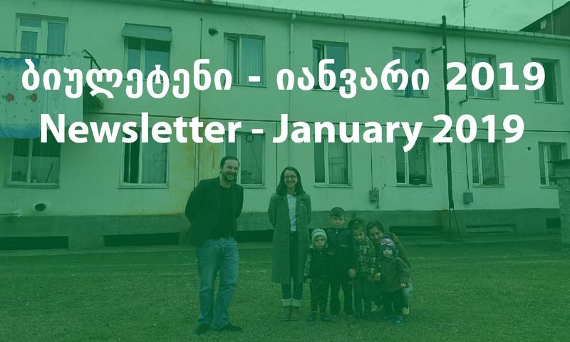საინფორმაციო ბიულეტენი - იანვარი 2019