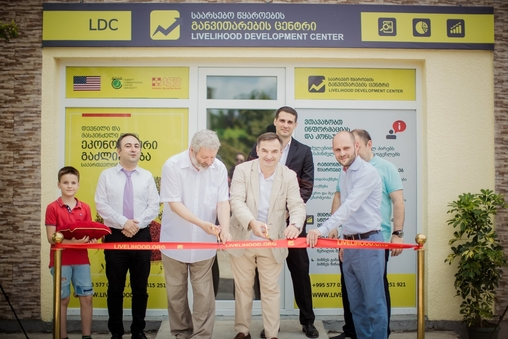 Livelihood Development Center (LDC) - Opening Ceremony in Zugdidi