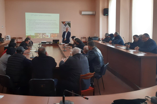 Information Meeting with Entrepreneurs - Gori / Zugdidi