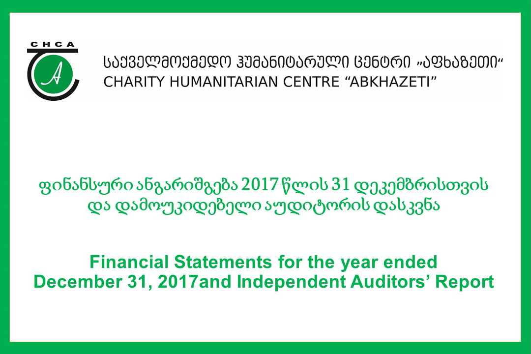 Financial Statements and Independent Auditors' Report