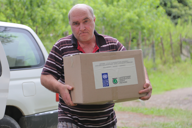 IDPs received food supplies - Zugdidi