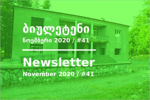 Newsletter - November 2020