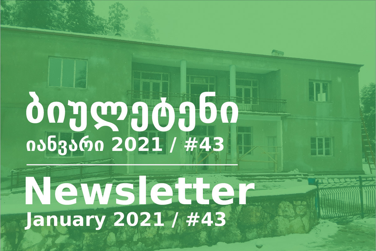 Newsletter - January 2021