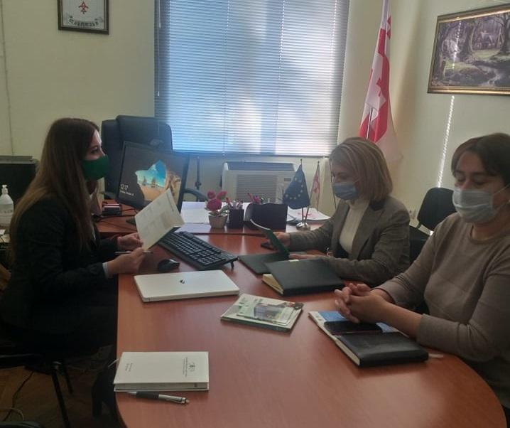 Meeting in Lagodekhi Municipality
